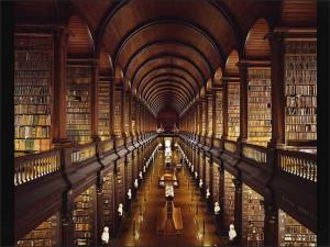 Biblioteca do Trinity College (ótima) copia