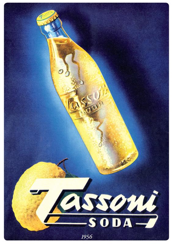 1956 Pubblicita Tassoni Soda