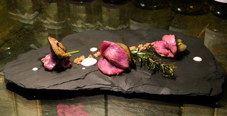 Filetto di Manzo shabu shabu
