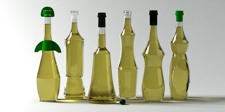 bottiglie olio generiche