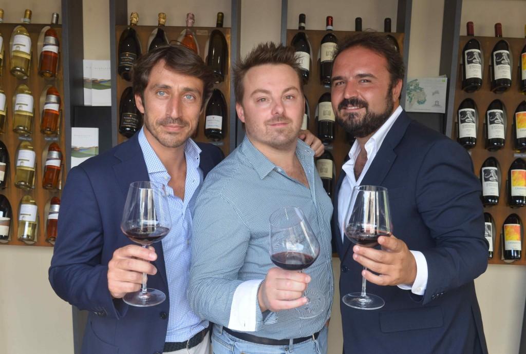 Andrea Romiti, Luca Gardini, Federico Gordini