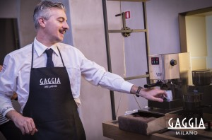 barista Cristian Tirro