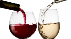 vino rosso bianco